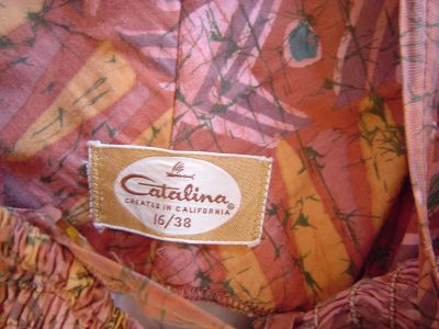 1950's Catalina Label