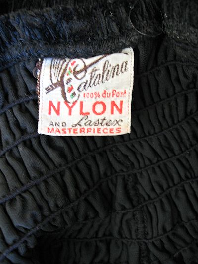 50's Catalina label