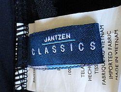 modern Jantzen label