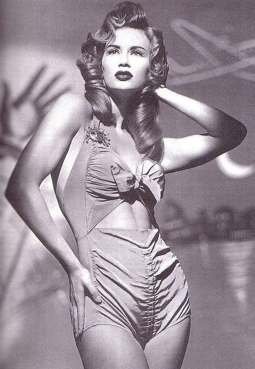 1950s Jantzen Novelty Print Swimsuit