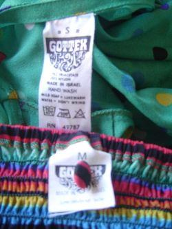 1970's Gottex Label