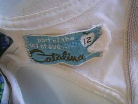 1960's Catalina Part of the Art of Eve label