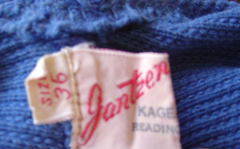 late 40's Jantzen label
