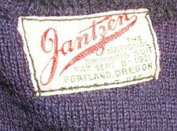Early Jantzen label 1922