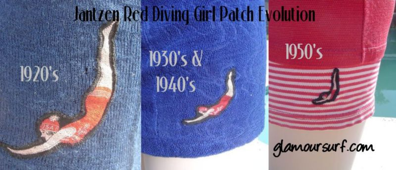 Jantzen Diving Girl Evolution