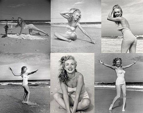 Marilyn Monroe at Tobey Beach