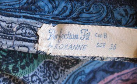 1950's Roxanne Label