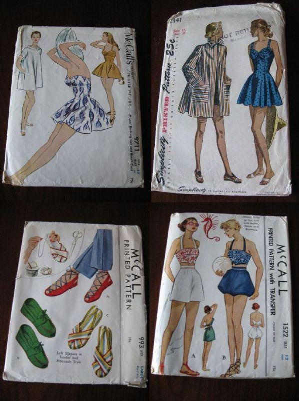 vintage swimsuit patterns