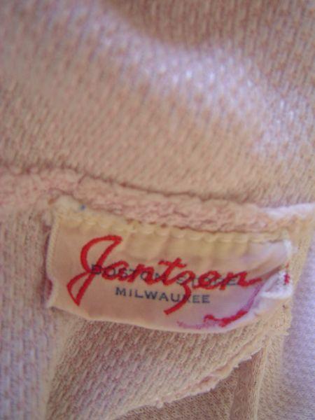 Mid 40's Jantzen label