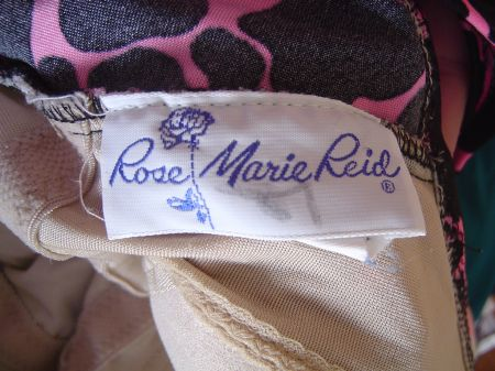 1970's Rose Marie Reid Label