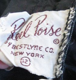 1940'S Reel Poise Label