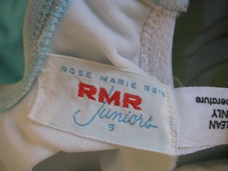 1960's Rose Marie Reid Juniors label