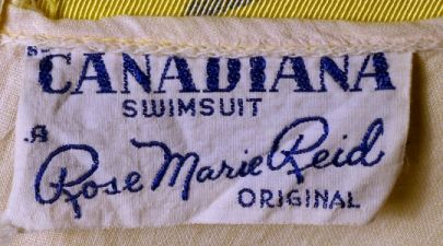 1945 Rose Marie Reid Label