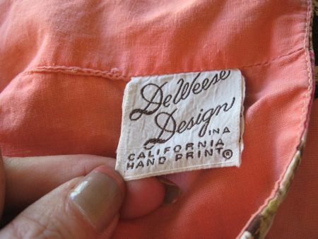 1950's DeWeese Design label