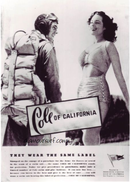 1944 Cole of California Swoon Suit