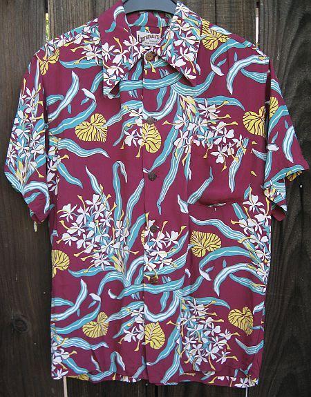 Vintage 40s Watumull's Silky Rayon Hawaiian Shirt