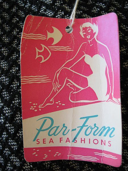 1950's Par Form Hang Tag
