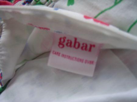 70's Gabar label