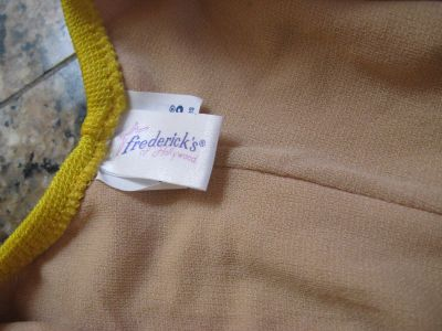 80's Fredericks Label