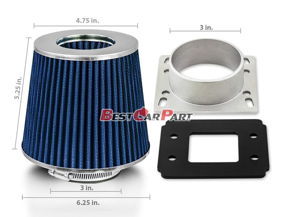 86-91 Corolla AE86 Camry Air Intake Filter MAF Adapter