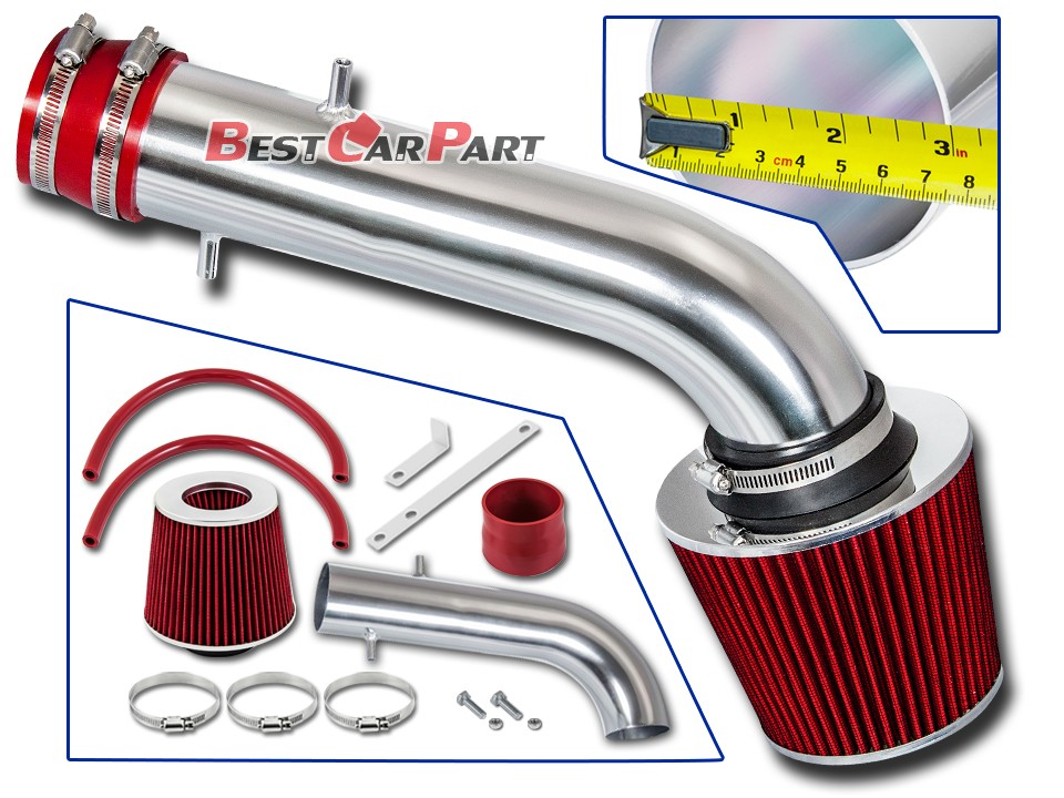Tribute 3.0L V6 Filter For 01-04 Escape RED Short Ram Air Intake Kit