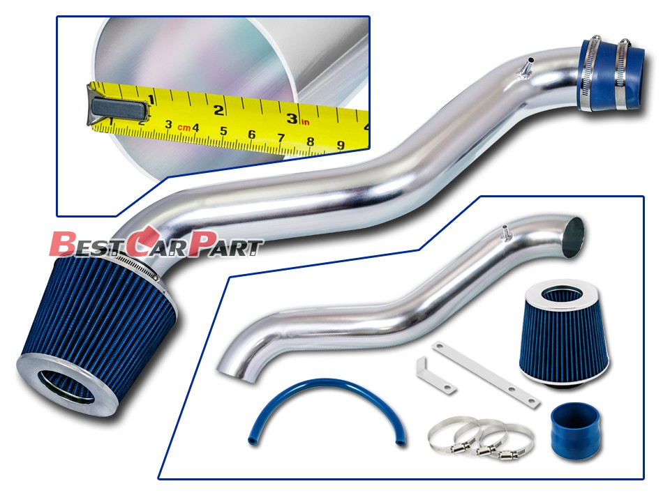 Filter BCP RED 92-96 Honda Prelude 2.2L//2.3L L4 Cold Air Intake Racing System