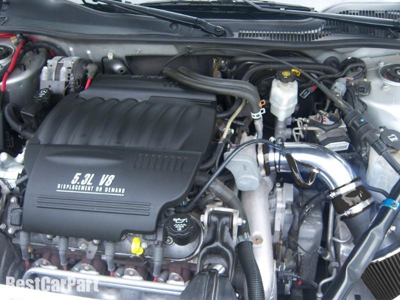 BCP BLACK 96-99 Buick Lesabre 3.8L V6 Short Ram Air Intake Kit Filter