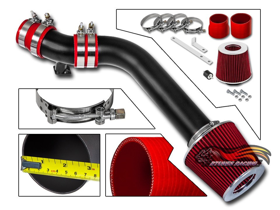 Bmw 92-98 3-Series E36 High Flow Performance Cold Air Intake Assembly Kit Polish