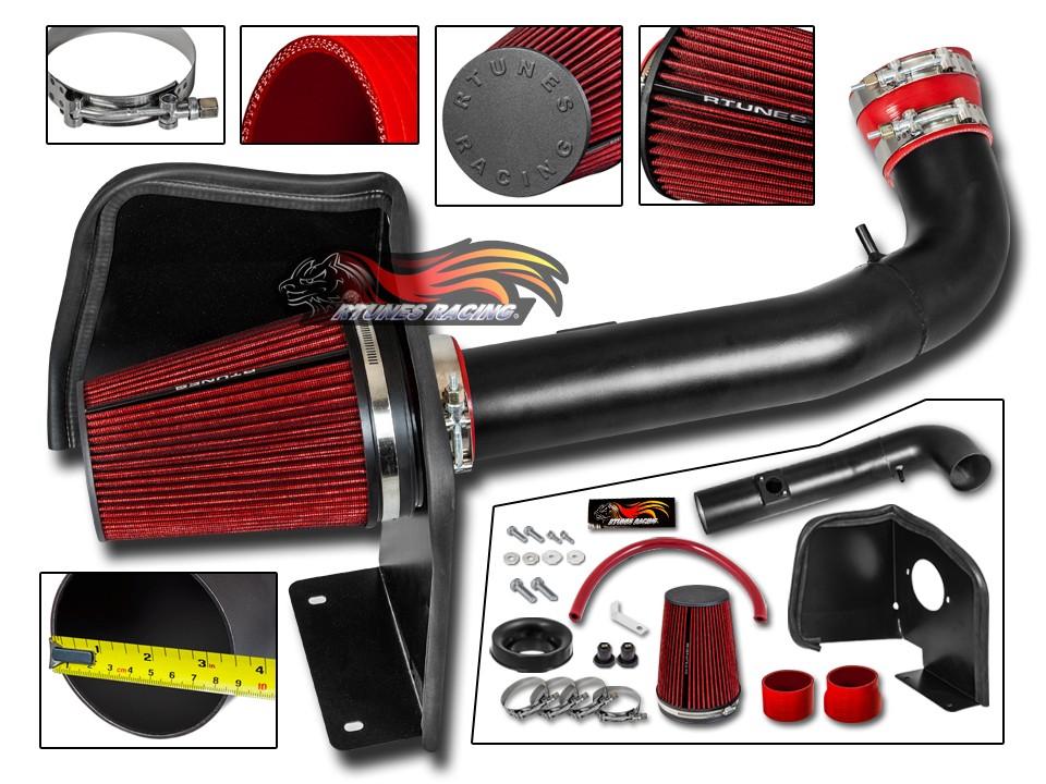 RTunes V2 Heat Shield Air Intake Kit Filter For 2009-2013 Silverado Sierra V8