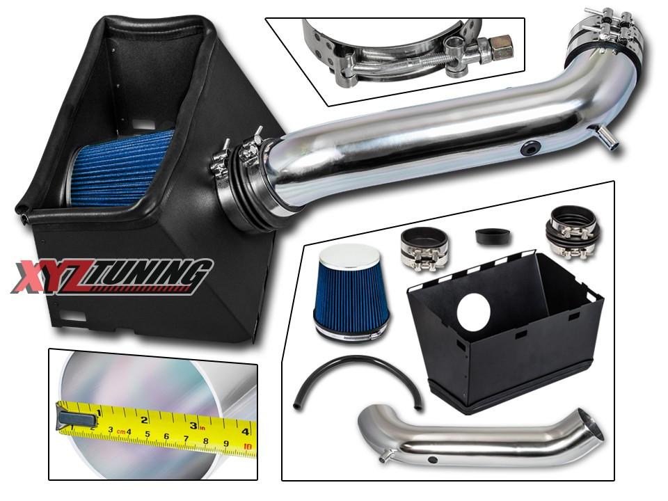 HEAT SHIELD FOR 02-08 Dodge Ram 1500 2500 4.7L 5.7L V8 COLD AIR INTAKE KIT