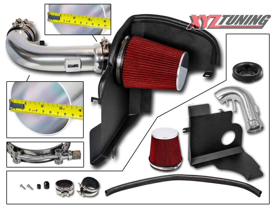 2011-2014 2011 2012 2013 2014 FORD F150 ALL 5.0L 5.0 V8 Heat Shield Air Intake