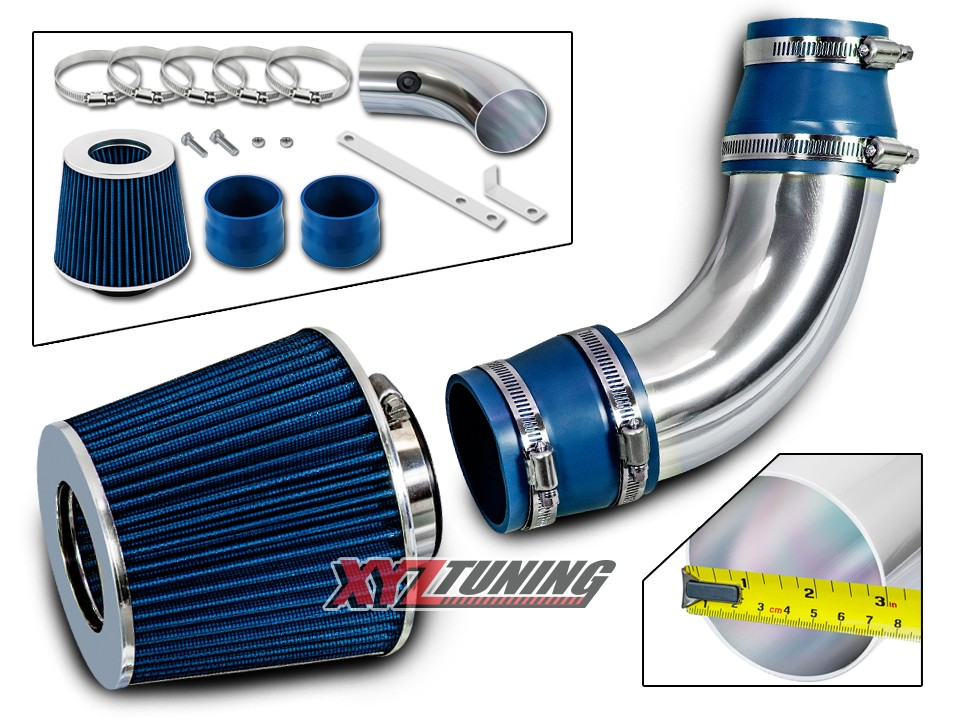 Filter For 04-07 Accord 2.4L L4 SULEV BLUE Short Ram Air Intake Induction Kit