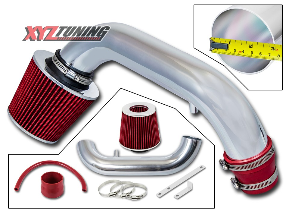"""Filter For 95-99 Neon 2.0L L4 2.5/"""" BLACK Cold Air Intake Induction Kit"""
