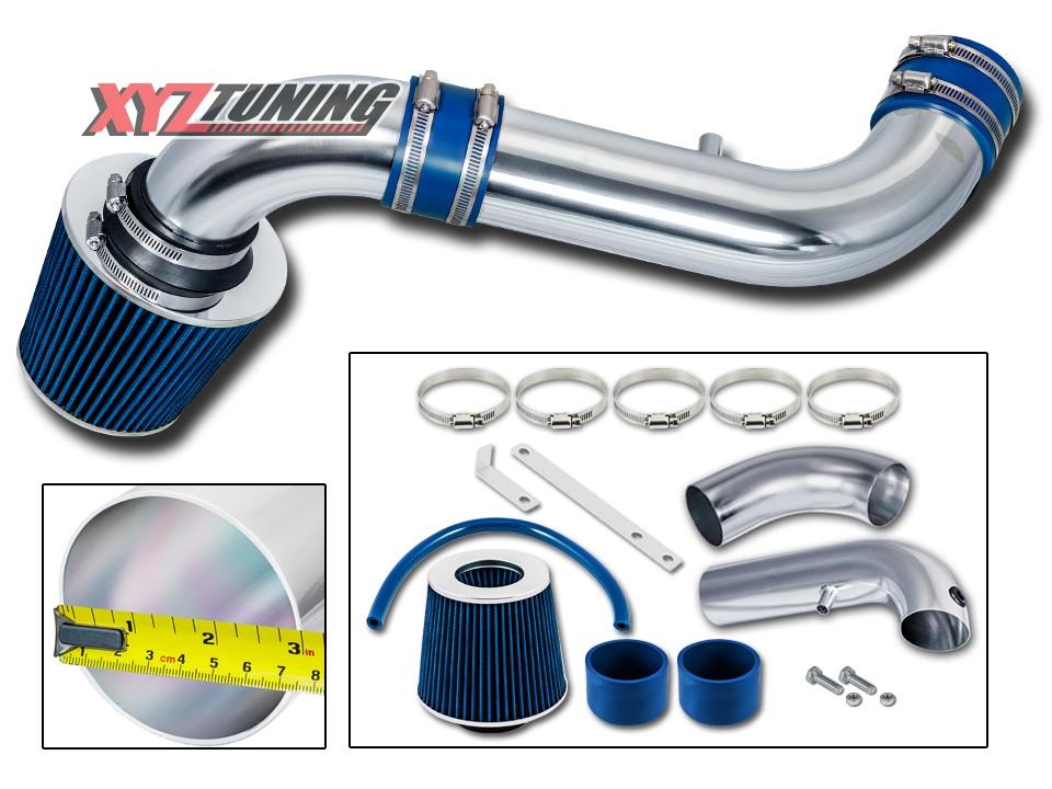 "Filter 3/"" 4.7L V8 Air Intake BLUE 2003 2004 2005 2006 Dakota 3.7L V6"