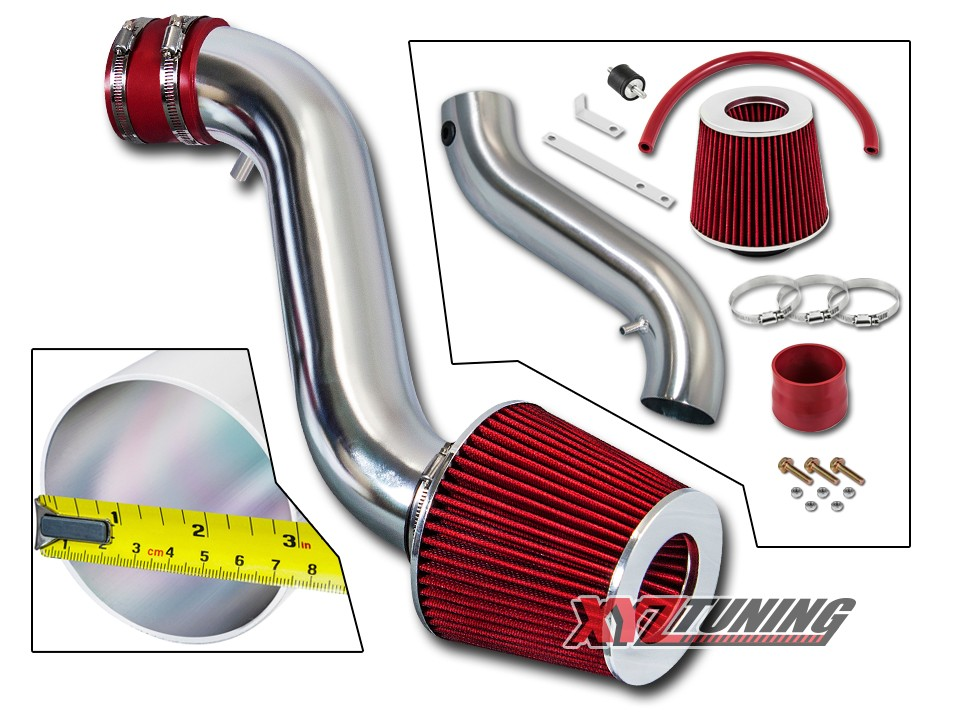 COLD INDUCTION AIR INTAKE KIT+DRY Filter FOR 05-10 Dodge Charger Magnum 3.5L V6