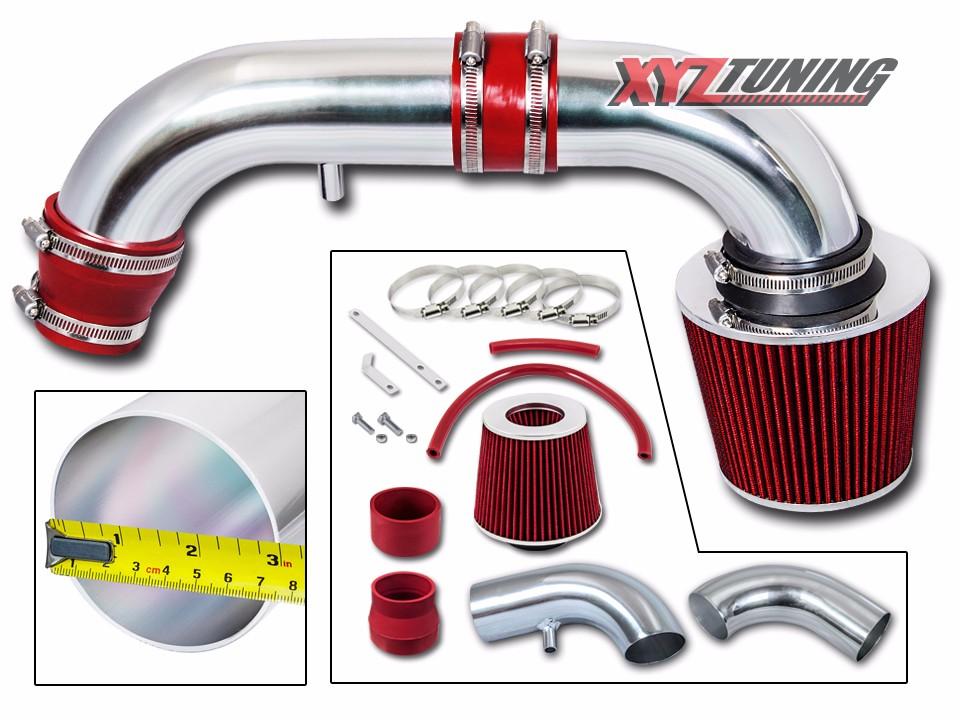 Filter BCP RED For 95-00 Stratus//Cirrus//Breeze 2.0 2.4 Racing Air Intake Kit