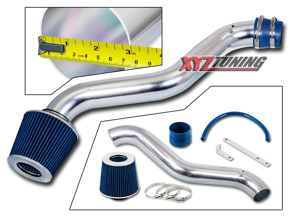 """BLUE Short Ram Air Intake Kit Filter For 2001 2002 2003 Elantra 2.0L L4 3/"""""""