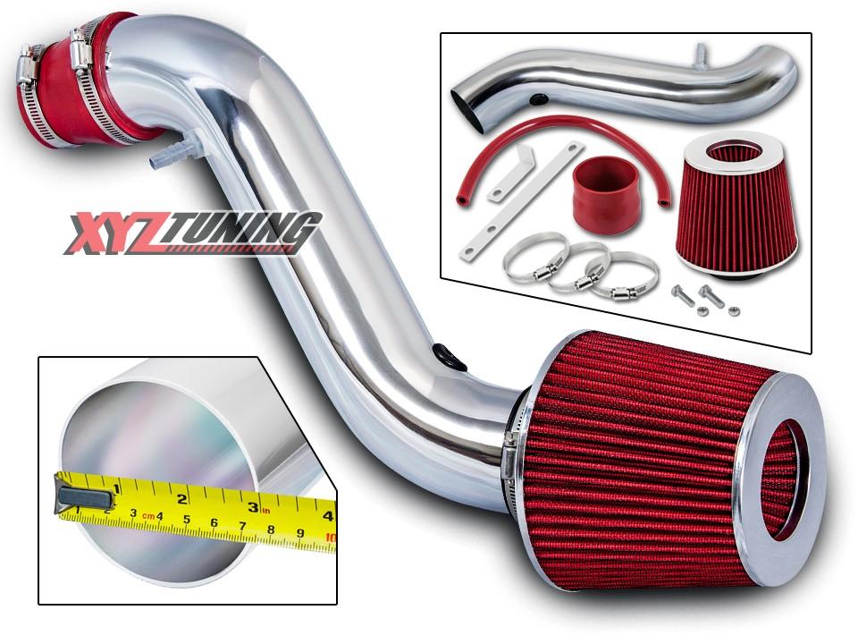 "JDM RED 1990 1991 1992 1993 Accord All 2.2L L4 Short Ram Air Intake Filter 3/"""