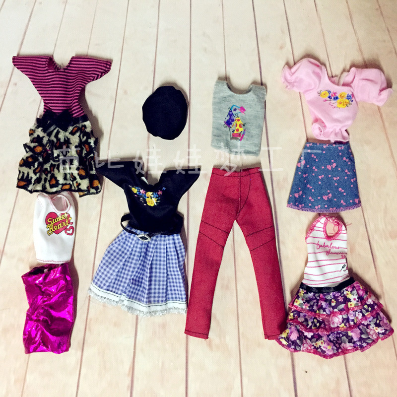 Doll Clothes # 2 Pcs Set Camouflage Clothing Fashion Outfit Top+pants FOR 11 in