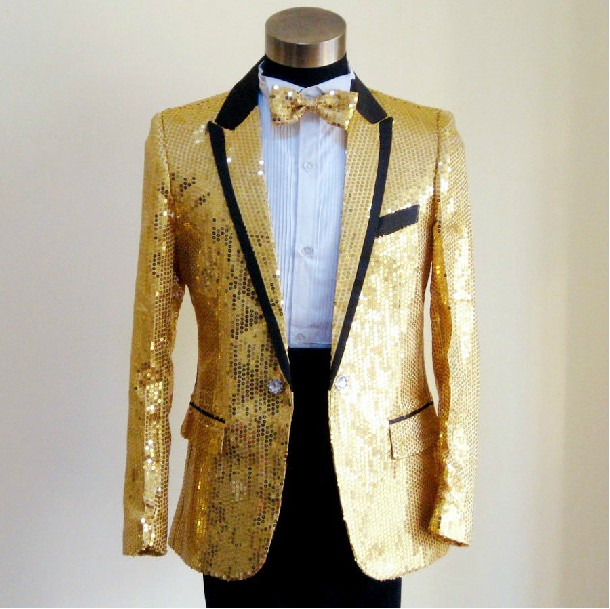 Men cloth of costumes dress gold sequins suit bird with uncle of ...