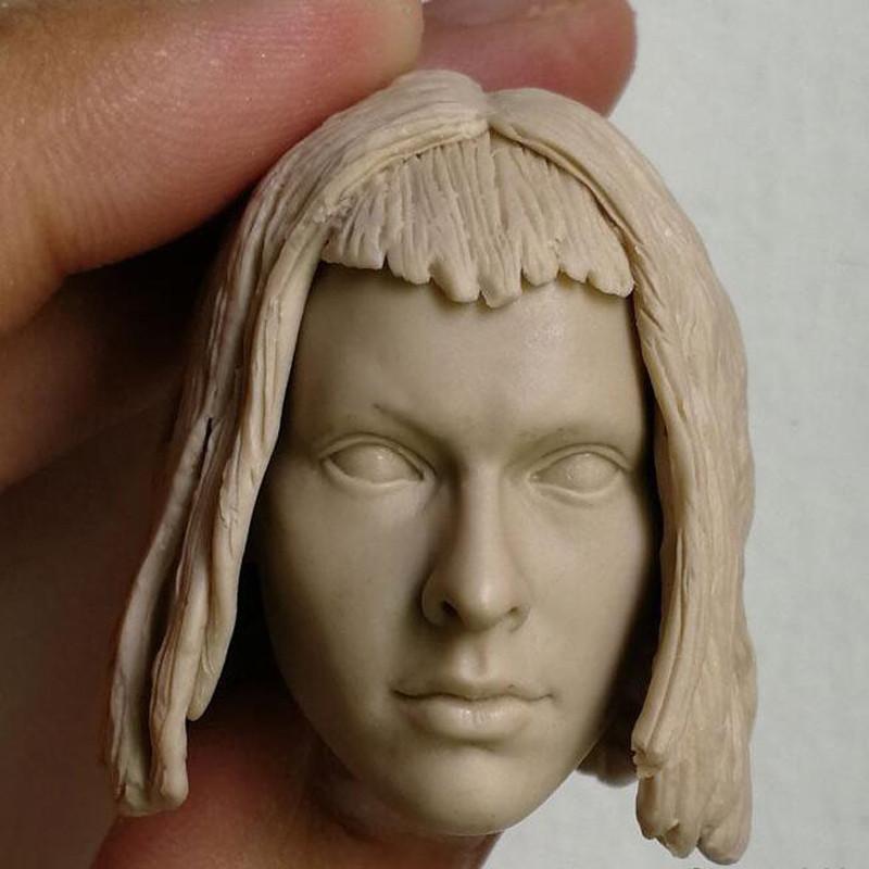 Blank Hot 1//6 Scale The night legend Underworld Selene Head Sculpt Unpainted