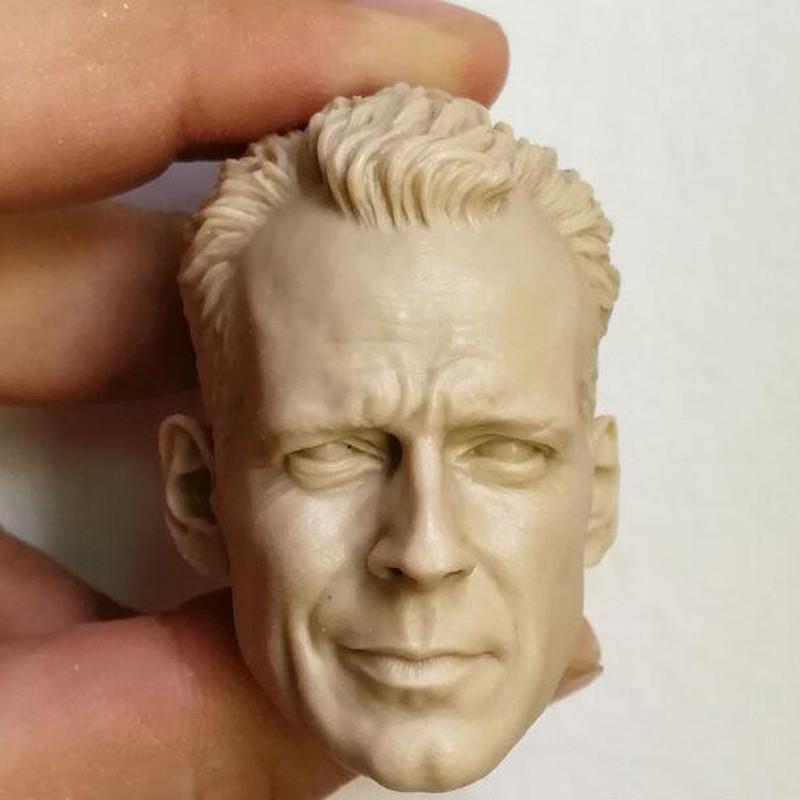 1//6 Bruce Willis Head John McClane DIE HARD bashing pour Hot Toys mâle PHICEN