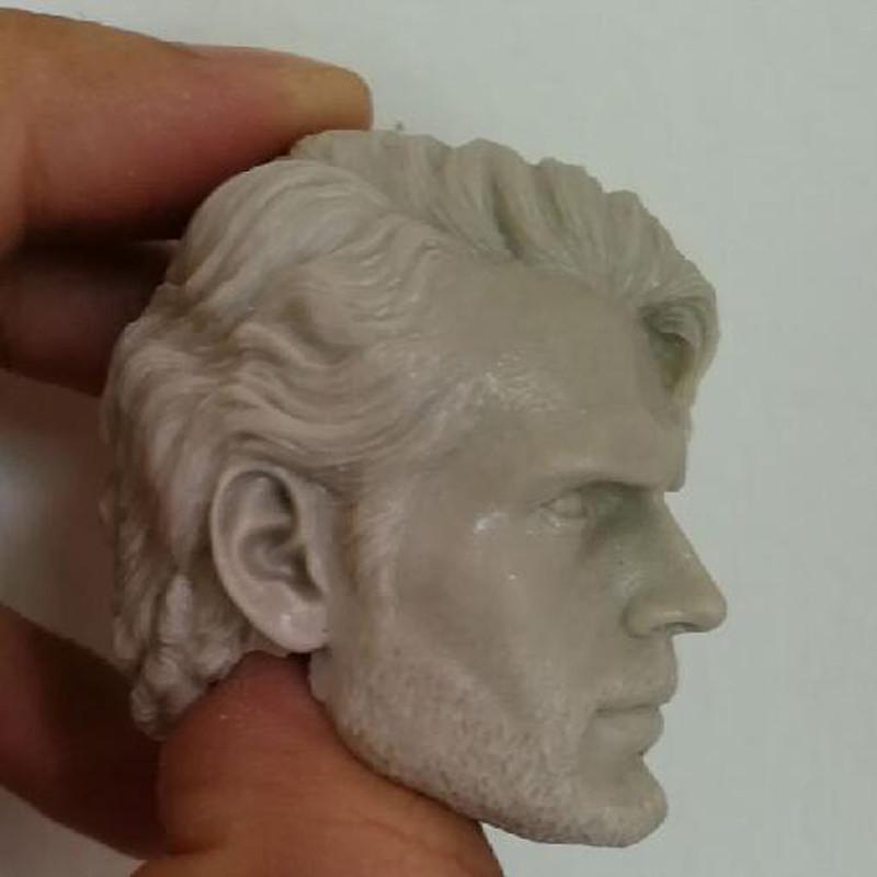 Blank Hot 1//6 Scale BVS Decadent Version Henry Cavill Head Sculpt Unpainted