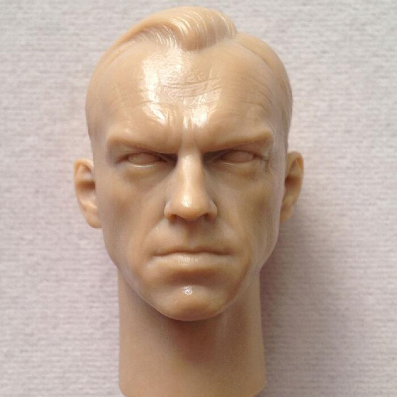 "1//6 Blank Head Model Red Skull Smith Hugo Vivian Model Fit 12/"" Male Body Figrue"