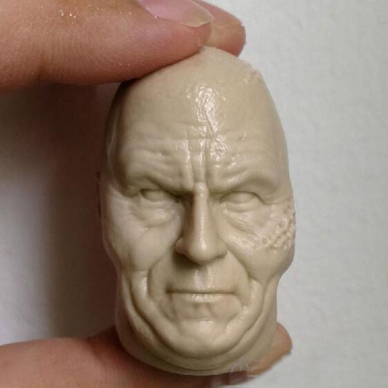 Blank Hot 1//6 Scale Star Wars Cade Bain Head Sculpt Unpainted