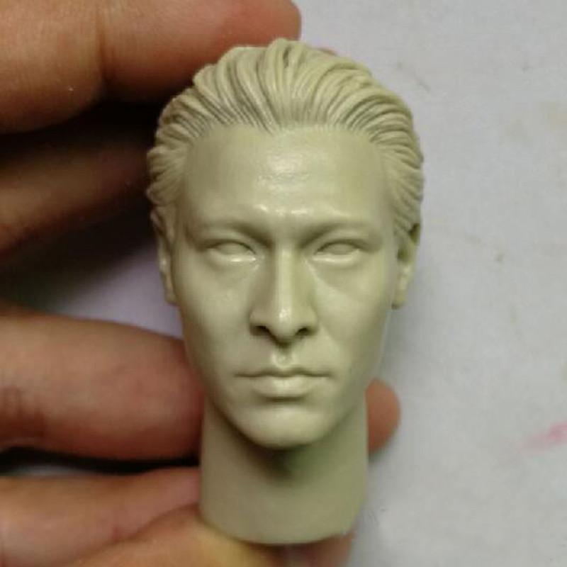 "Blank Hot 1//6 Scale Chun-Li  チュン・リー Head Sculpt Unpainted Fit 12/"" Body"