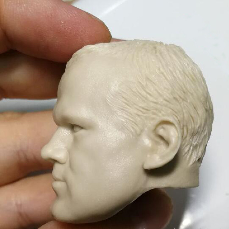 1//6 scale Custom blank Head Sculpt Wayne Rooney unpainted