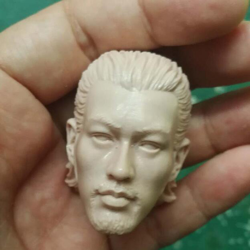 Blank Hot 1//6 Scale Kung Fu Hustle The Axe Gang Master Head Sculpt Unpainted