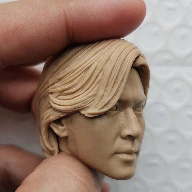 "Blank 1//6 Scale Youth and Danger Ekin Cheng Head Sculpt Unpainted Fit 12/"" Figure"