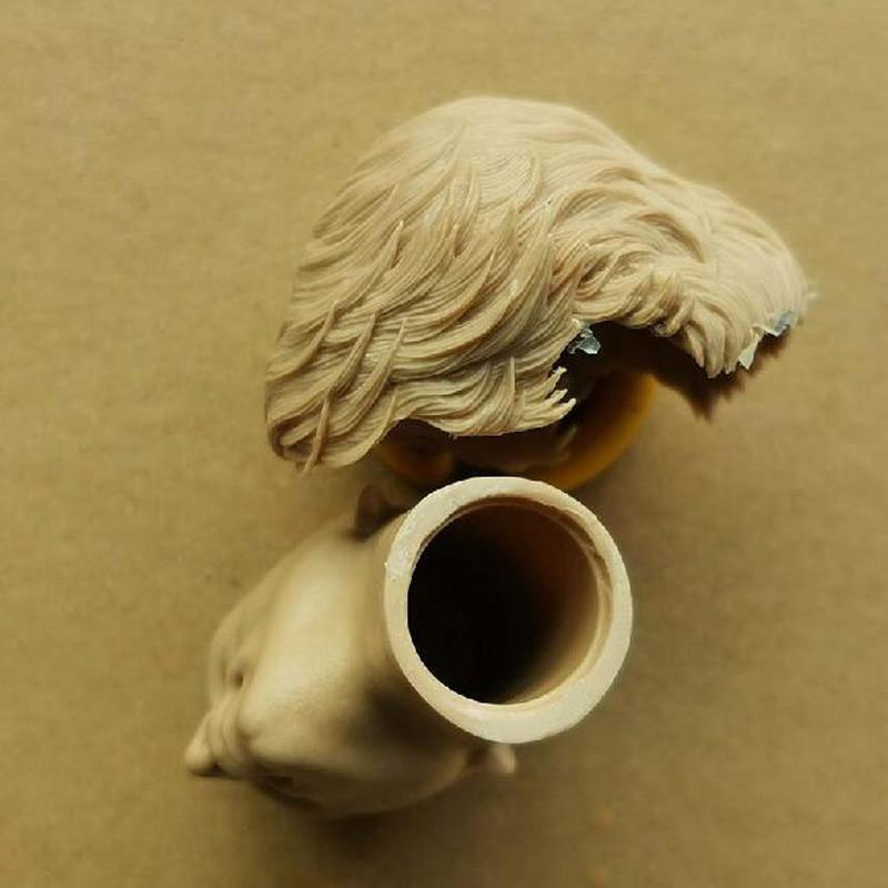 1//6 Scale Star Wars Luke Skywalker Removable Blank Head Sculpt Unpainted A Style